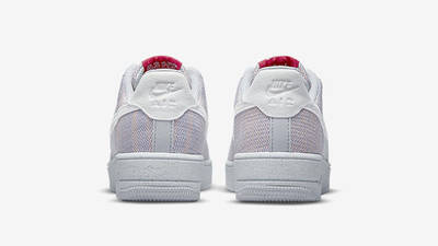 Nike Air Force 1 Crater Flyknit Wolf Grey DC4831-002 back