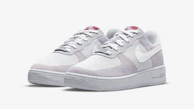 Nike Air Force 1 Crater Flyknit Wolf Grey DC4831-002 front
