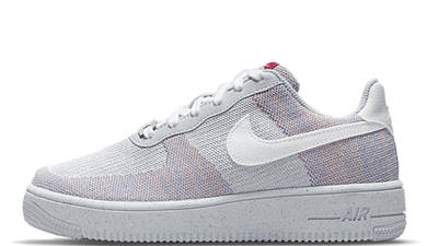Nike Air Force 1 Crater Flyknit Wolf Grey DC4831-002