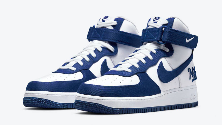Nike Air Force 1 High EMB Dodgers Front