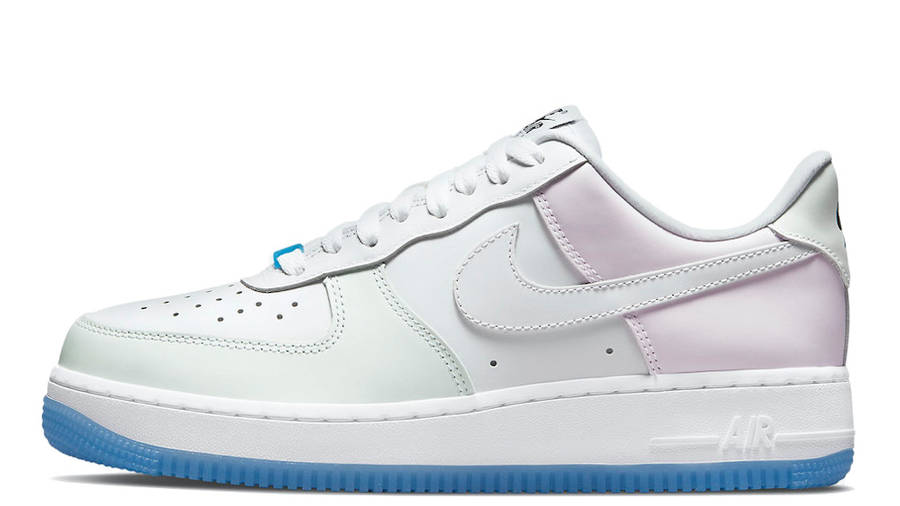 Nike Air Force 1 Low UV White Pink Yellow   Where To Buy   DA8301 ...