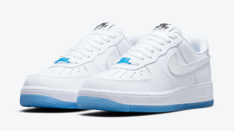 Nike Air Force 1 Low UV White University Blue | Where To Buy ...