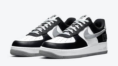 Nike Air Force 1 LV8 EMB Black Silver CT2301-001 front