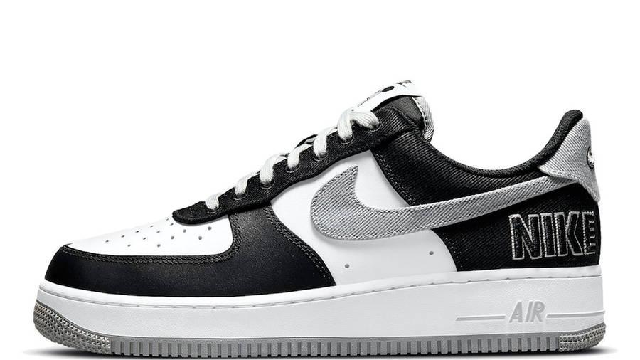 Nike Air Force 1 LV8 EMB Black Silver CT2301-001