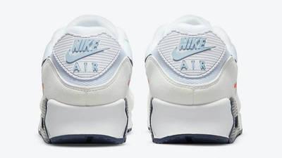 Nike Air Max 90 Sail Navy Blue Back