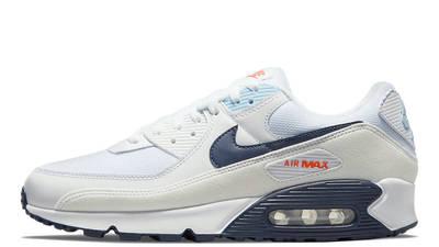 Nike Air Max 90 Sail Navy Blue