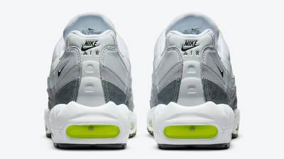 Nike Air Max 95 Grey Volt Logo Back