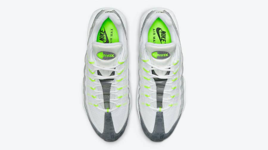 Nike Air Max 95 Grey Volt Logo Middle
