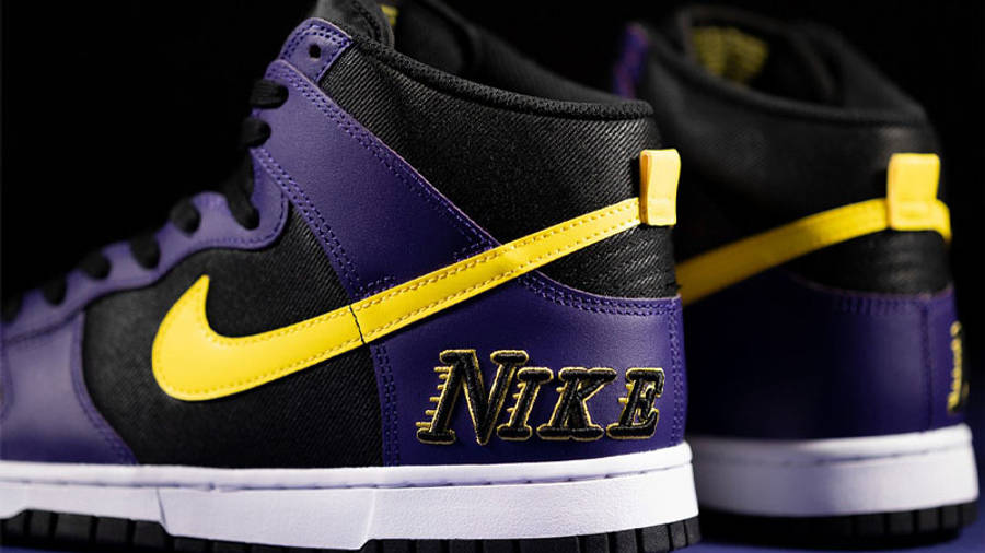 Nike Dunk High EMB Lakers Lifestyle