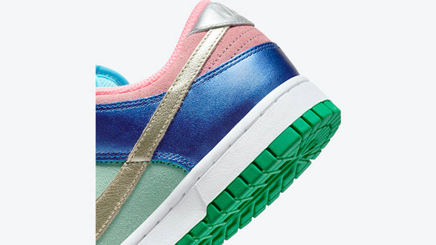 Nike Dunk Low Metallic Mismatch Multi DN0855-600 Back Detail