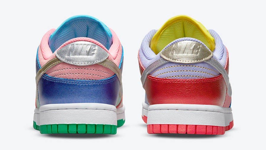 Nike Dunk Low Metallic Mismatch Multi DN0855-600 Back