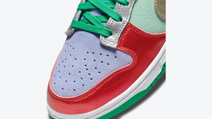 Nike Dunk Low Metallic Mismatch Multi DN0855-600 Detail