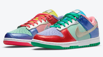 Nike Dunk Low Metallic Mismatch Multi DN0855-600 Side