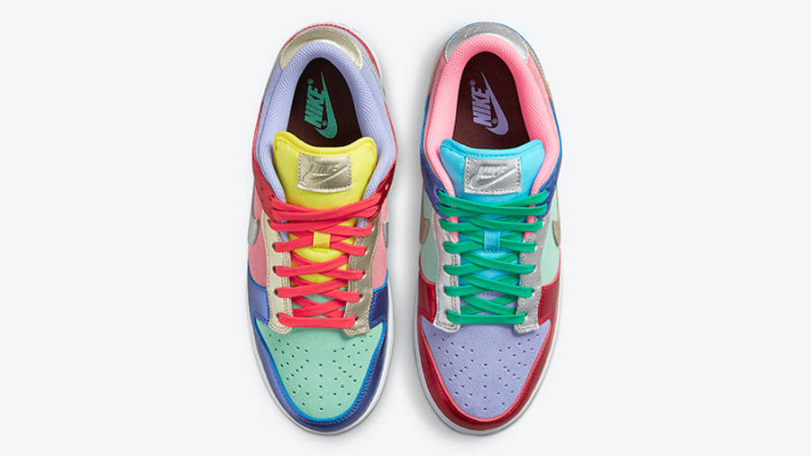 Nike Dunk Low Metallic Mismatch Multi DN0855-600 Top