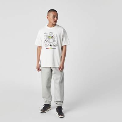 Nike NBA M2Z Globe T-Shirt White Full