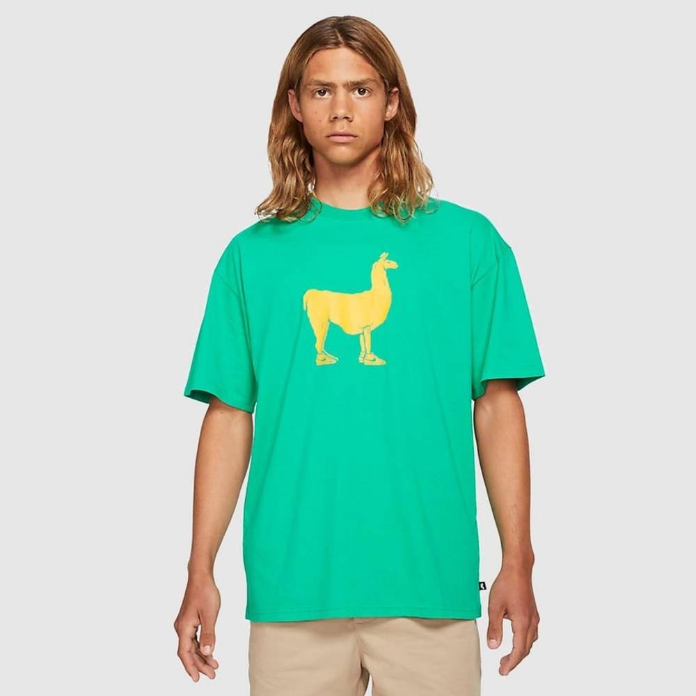 Nike SB Paul Llama Graphic T-Shirt Green