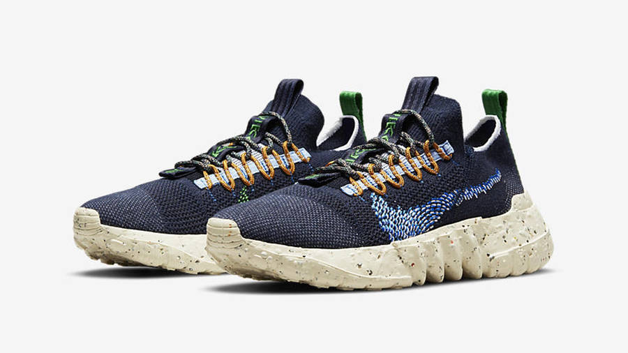 Nike Space Hippie 01 Obsidian Front
