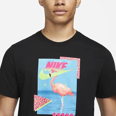 Nike Sportswear Beach Flamingo T-Shirt DD1282-010 Detail