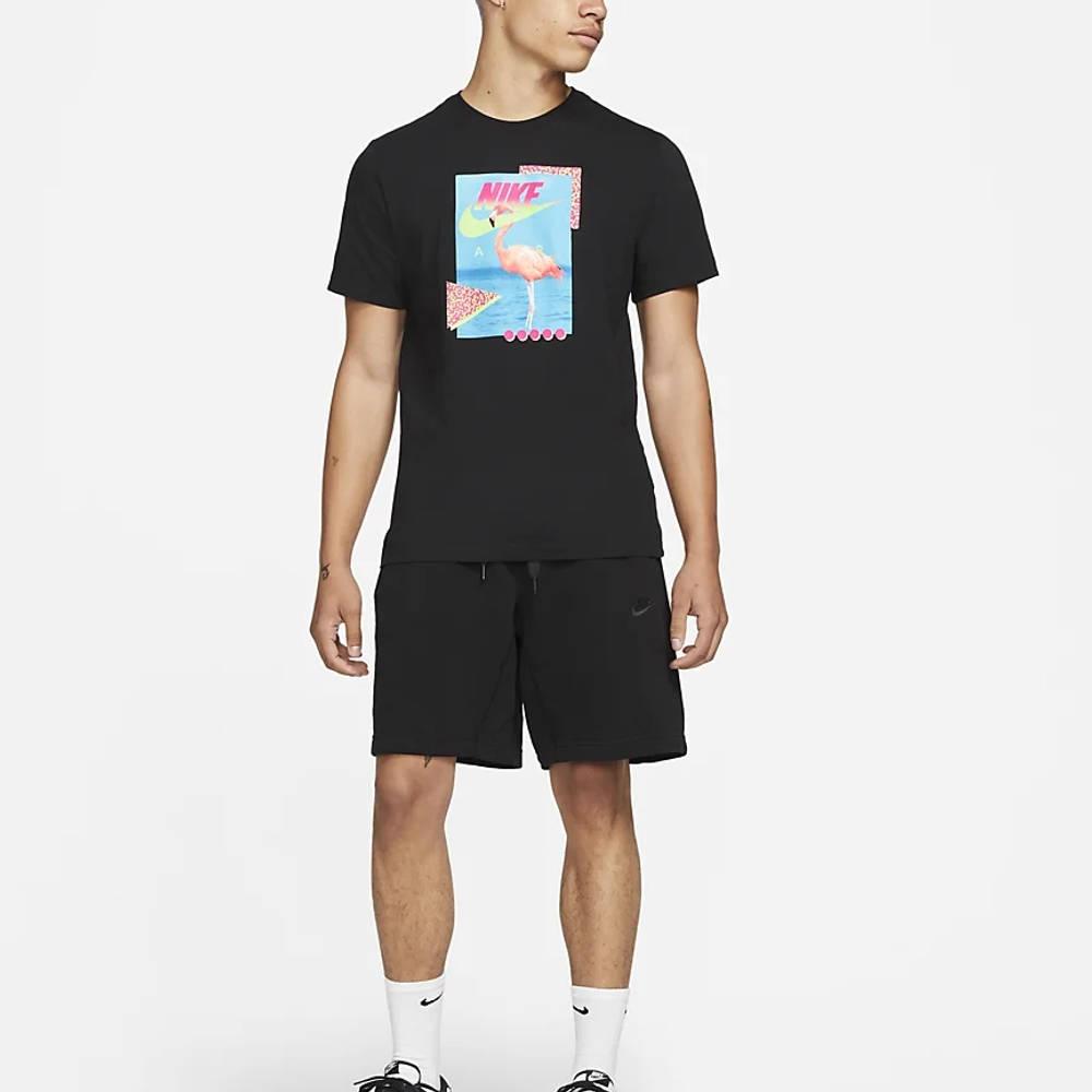 Nike Sportswear Beach Flamingo T-Shirt DD1282-010 Full