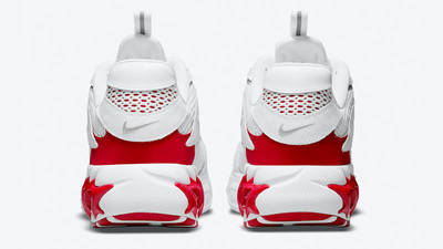 Nike Zoom Air Fire White Red Back