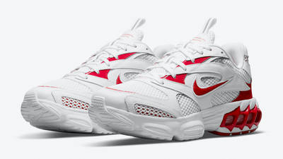 Nike Zoom Air Fire White Red Front