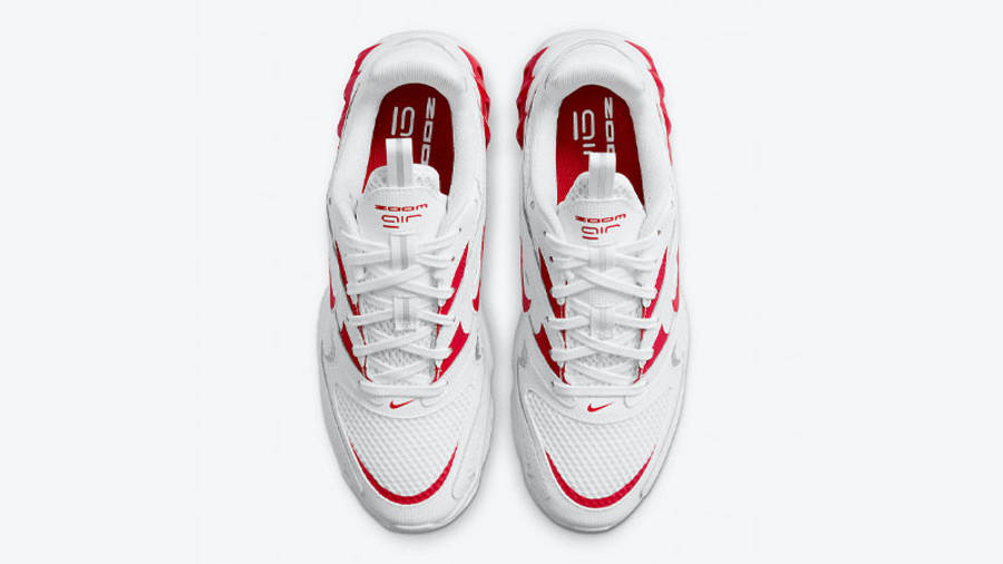 Nike Zoom Air Fire White Red Middle