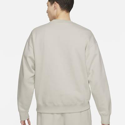 NikeLab Fleece Crew Sweatshirt CV0554-072 Back