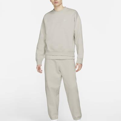 NikeLab Fleece Crew Sweatshirt CV0554-072 Full