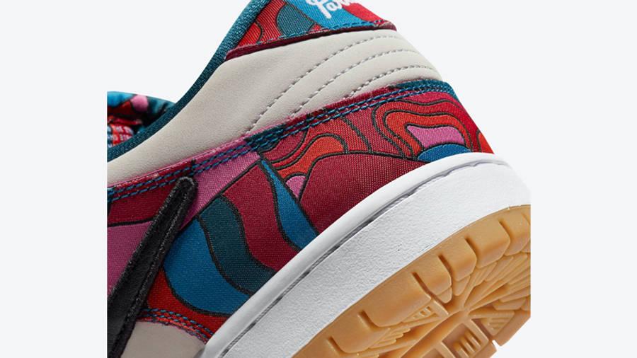 Piet Parra x Nike SB Dunk Low Pro Multi Closeup