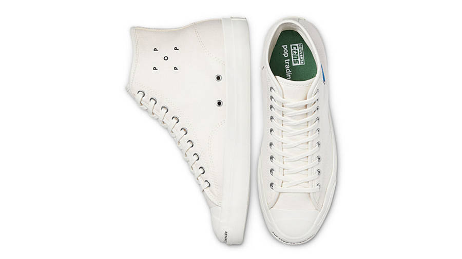 Pop Trading Company x Converse CONS Miffy JP Pro High Top Egret Middle