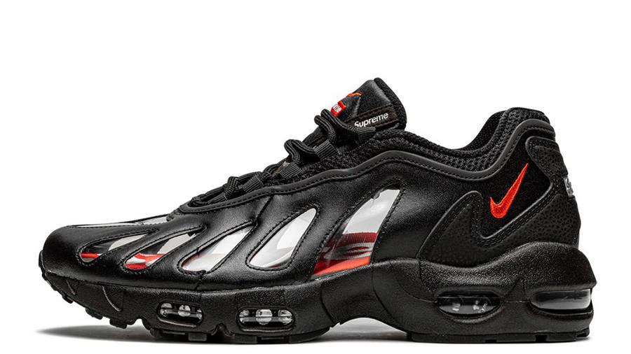 Supreme x Nike Air Max 96 Black