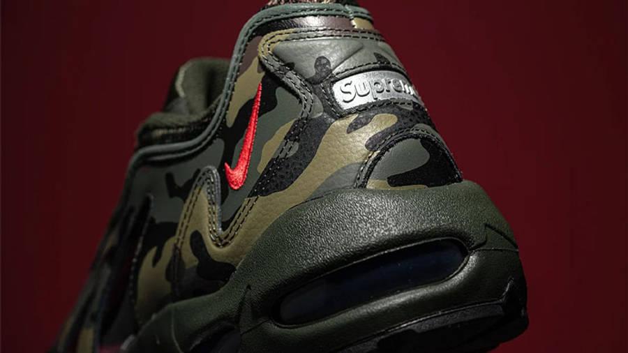 Supreme x Nike Air Max 96 Camo First Look Back