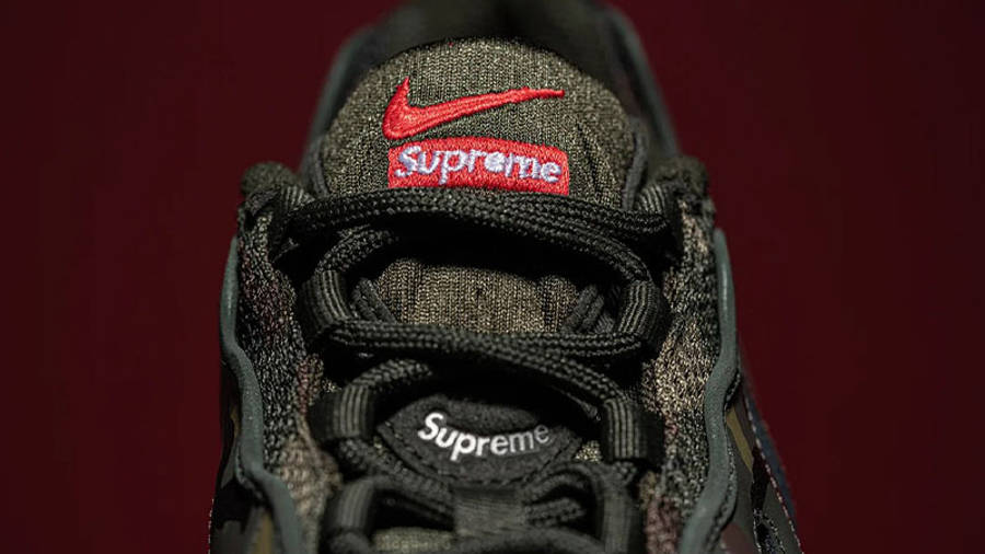 Supreme x Nike Air Max 96 Camo First Look Top