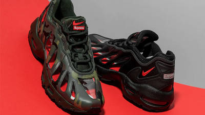 Supreme x Nike Air Max 96 Camo First Look