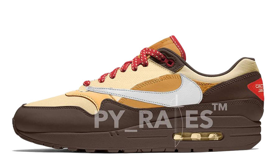 Travis Scott x Nike Air Max 1 Cactus Jack Baroque Brown