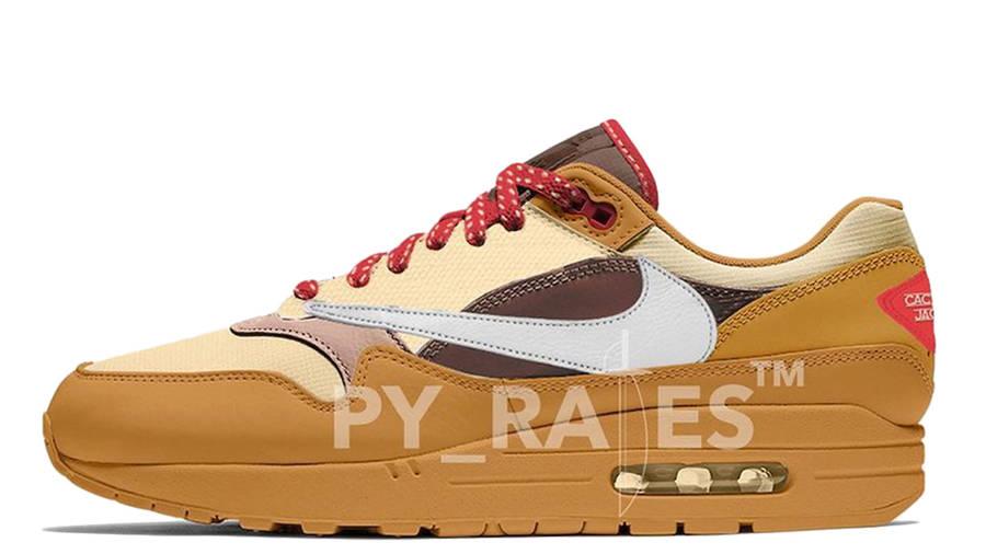 Travis Scott x Nike Air Max 1 Cactus Jack Baroque Brown