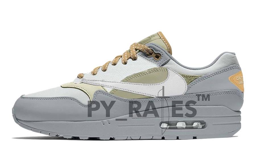 Travis Scott x Nike Air Max 1 Cactus Jack Grey Haze