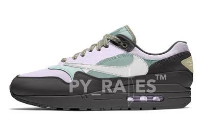 Travis Scott x Nike Air Max 1 Cactus Jack Off Noir Mock