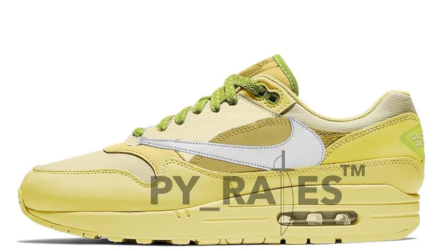 Travis Scott x Nike Air Max 1 Cactus Jack Saturn Gold