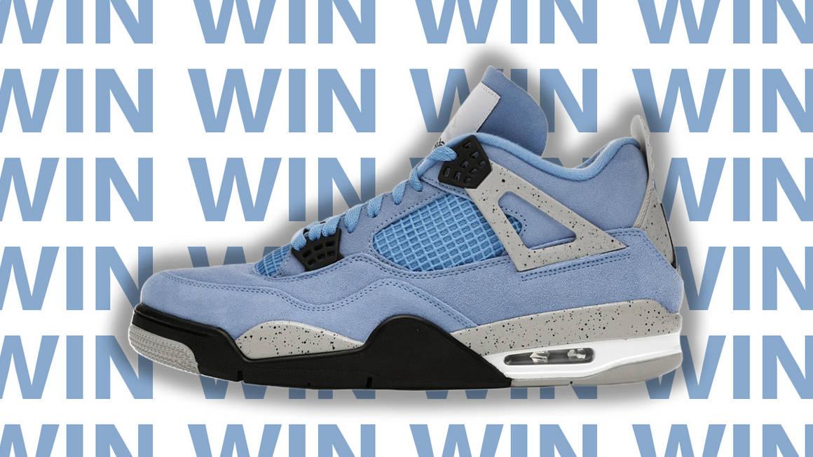 "Giveaway: WIN the Air Jordan 4 ""University Blue""!"