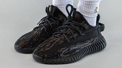 Yeezy Boost 350 V2 MX Rock On Foot Front