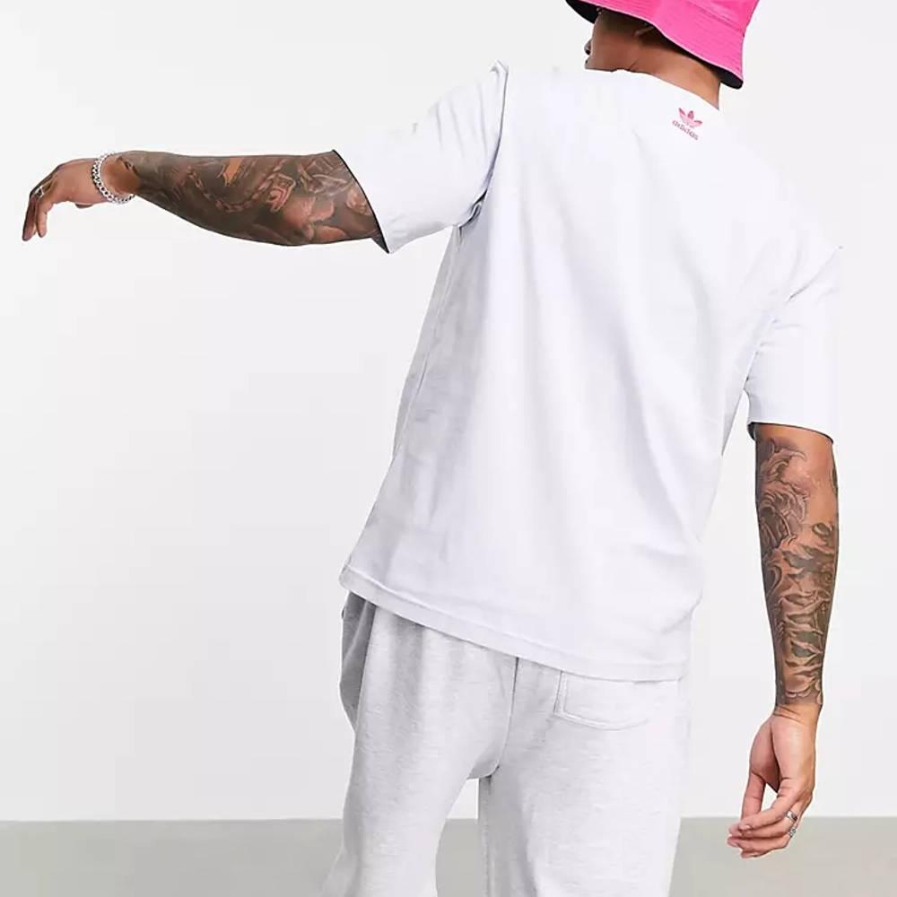 adidas Originals 3D Trefoil T-Shirt Blue Back