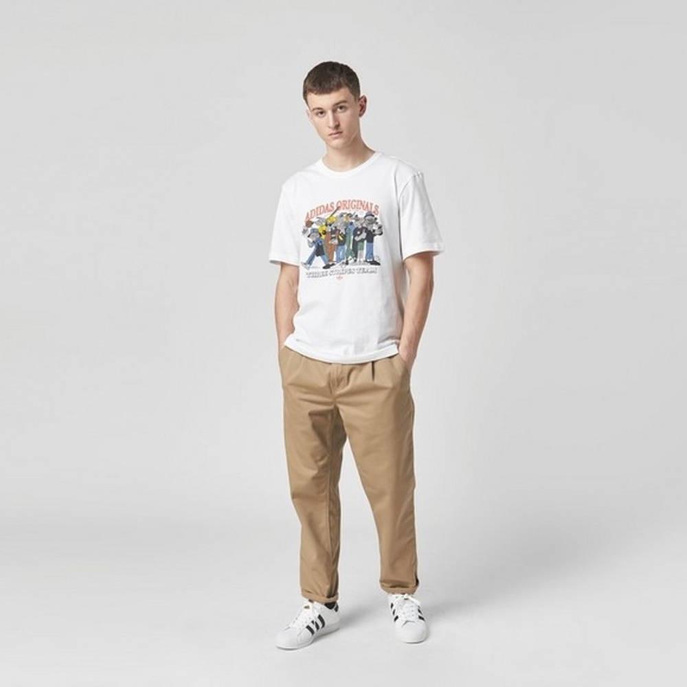 adidas Originals RYV Rateuinion T-Shirt White Full