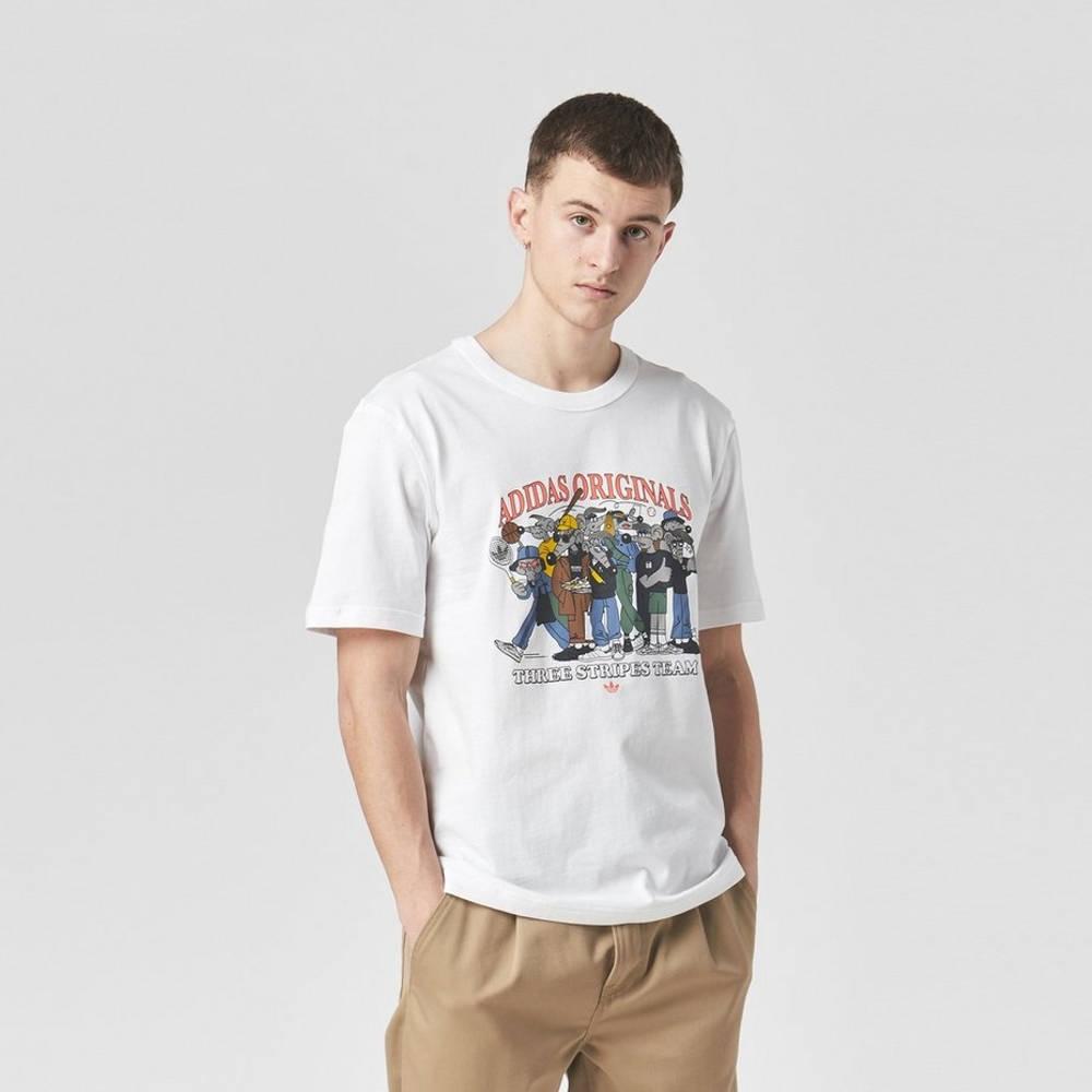 adidas Originals RYV Rateuinion T-Shirt White