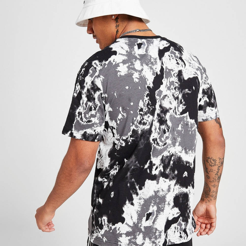 adidas Originals Tie Dye T-Shirt Black Back