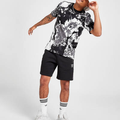adidas Originals Tie Dye T-Shirt Black Full