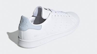adidas Stan Smith White Halo Blue Back