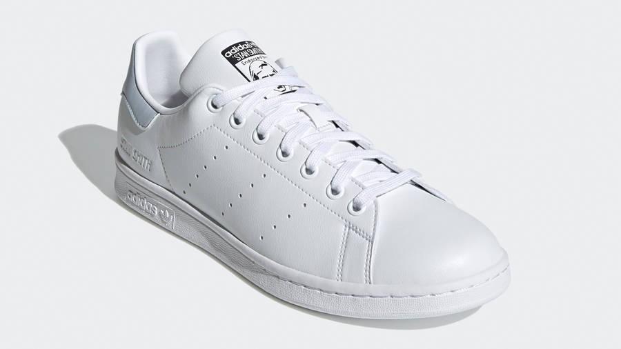 adidas Stan Smith White Halo Blue Front