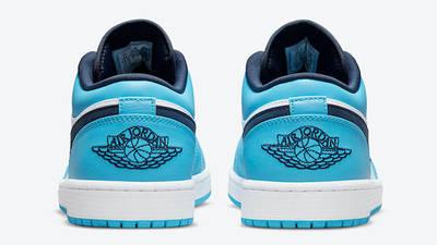 Air Jordan 1 Low UNC University Blue 553558-144 Back
