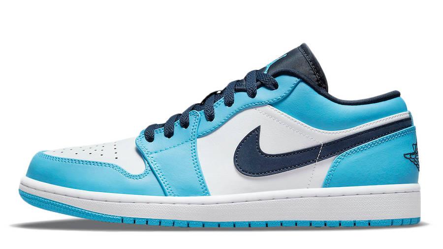 Air Jordan 1 Low UNC University Blue 553558-144